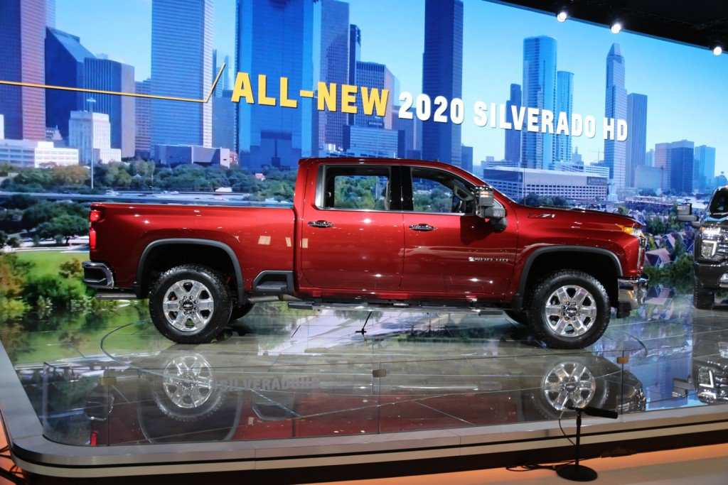 93 New 2020 Silverado Hd First Drive