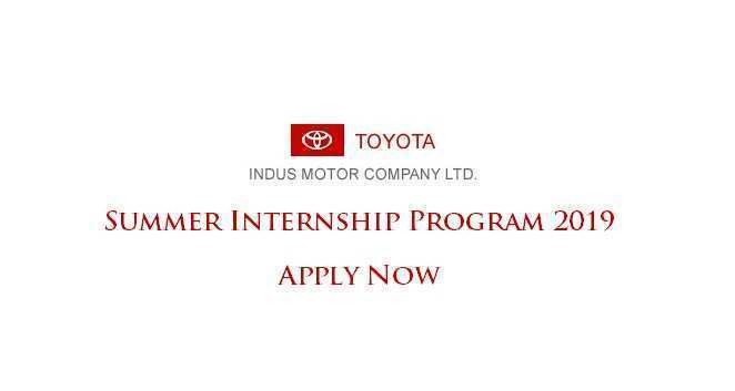 93 New Toyota Internship 2019 New Review