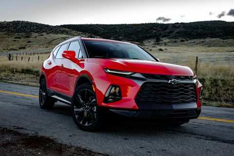 93 The 2019 Chevy Blazer Research New