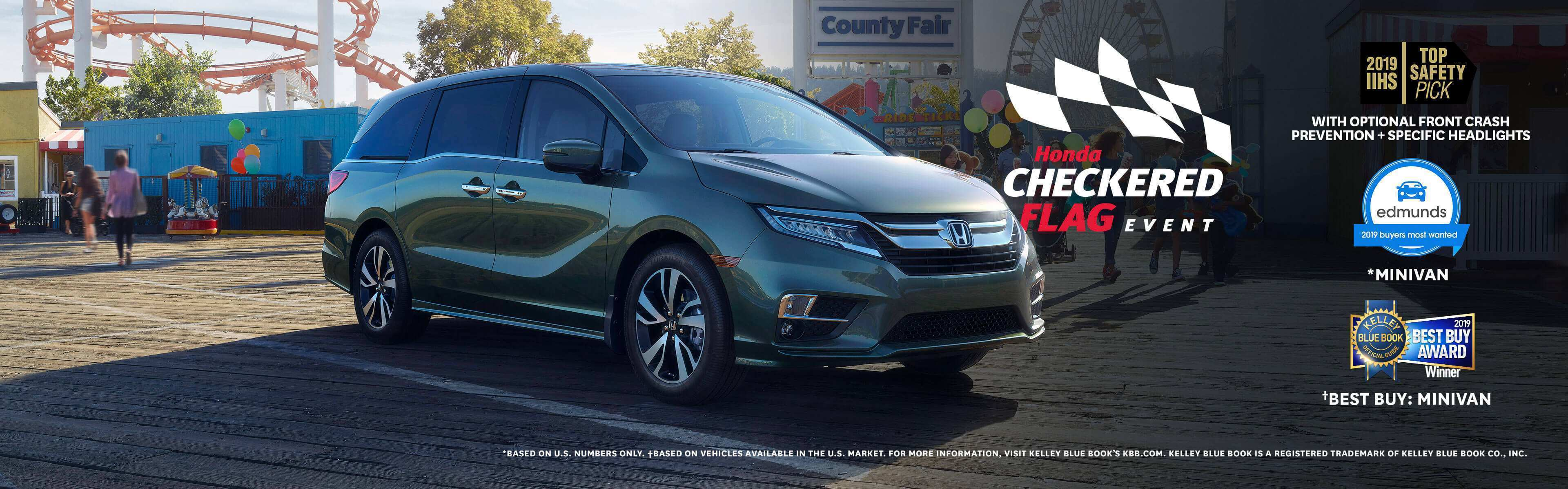 93 The 2019 Honda Odyssey Research New