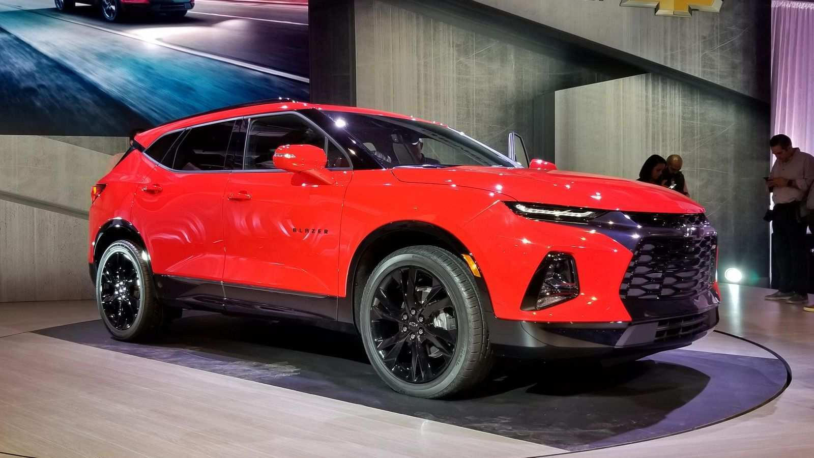 93 The 2019 The Chevy Blazer Exterior