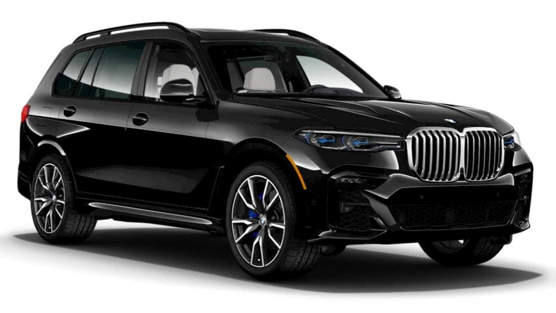 93 The 2020 BMW X7 Suv Series Photos