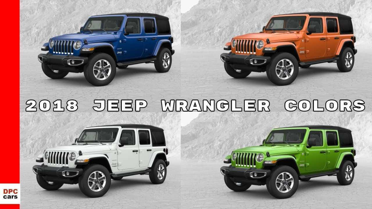 93 The Best 2019 Jeep Jl Colors Redesign And Review