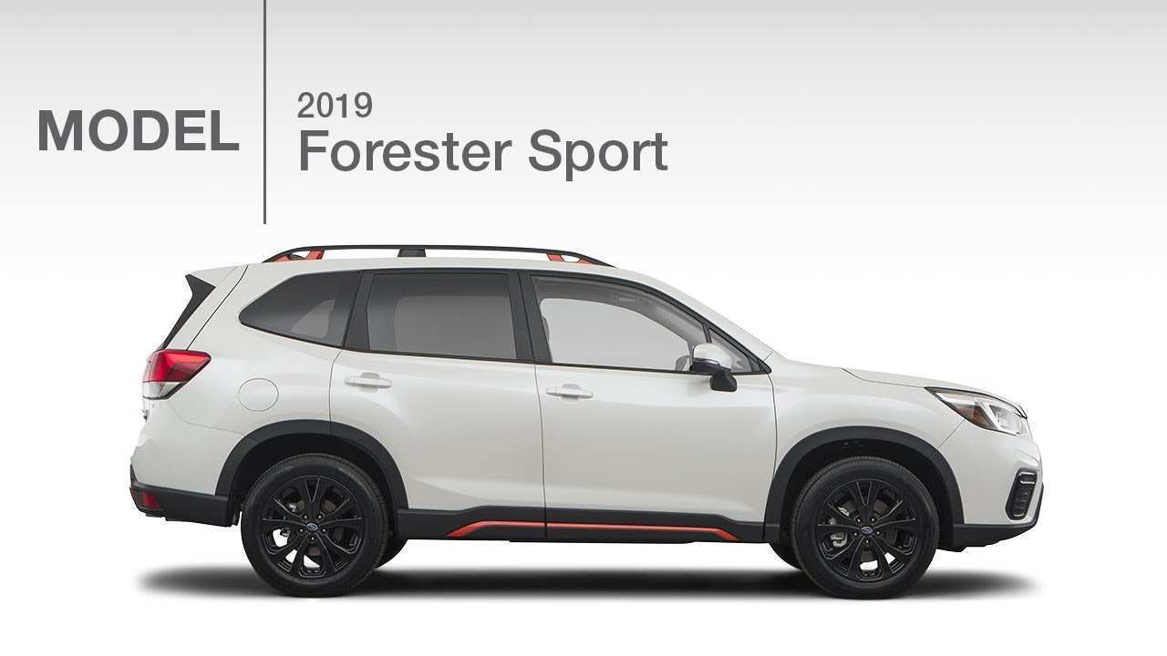 93 The Best 2019 Subaru Forester Sport 2 Pictures