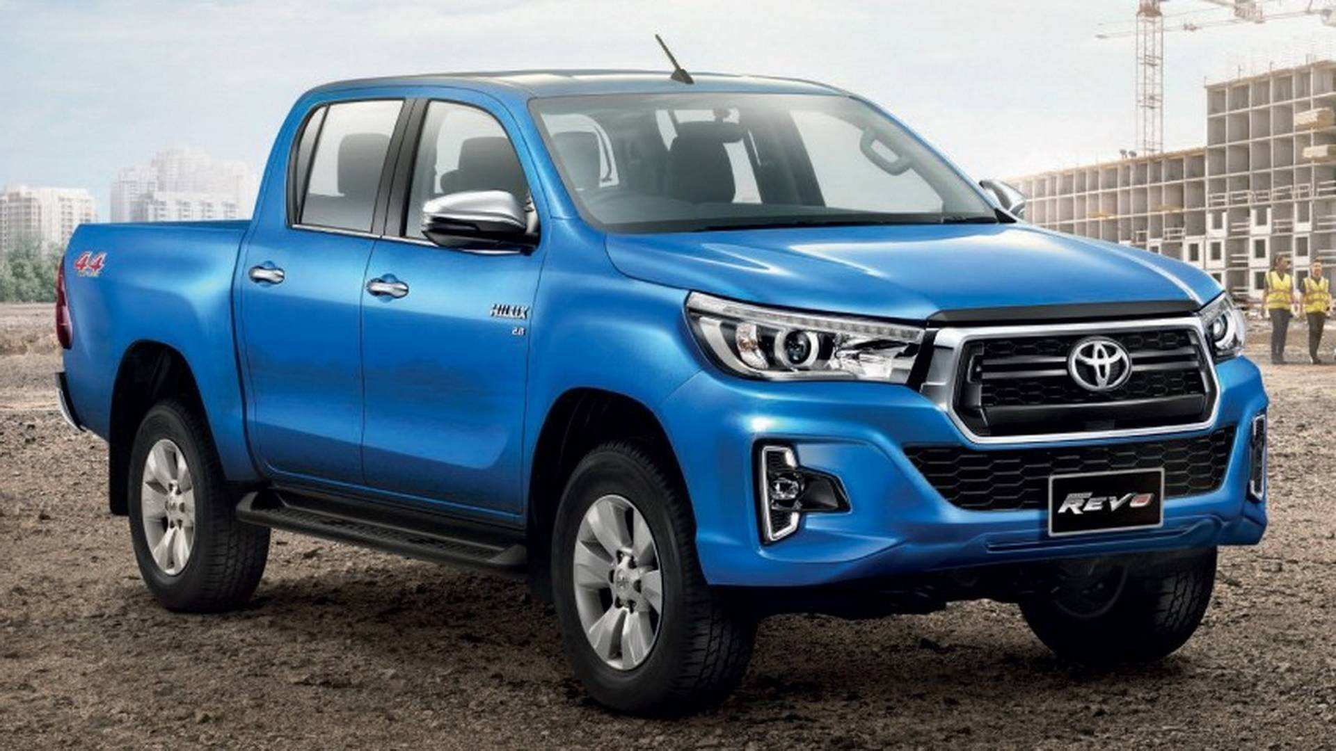 93 The Best 2019 Toyota Hilux Spy Shots Release