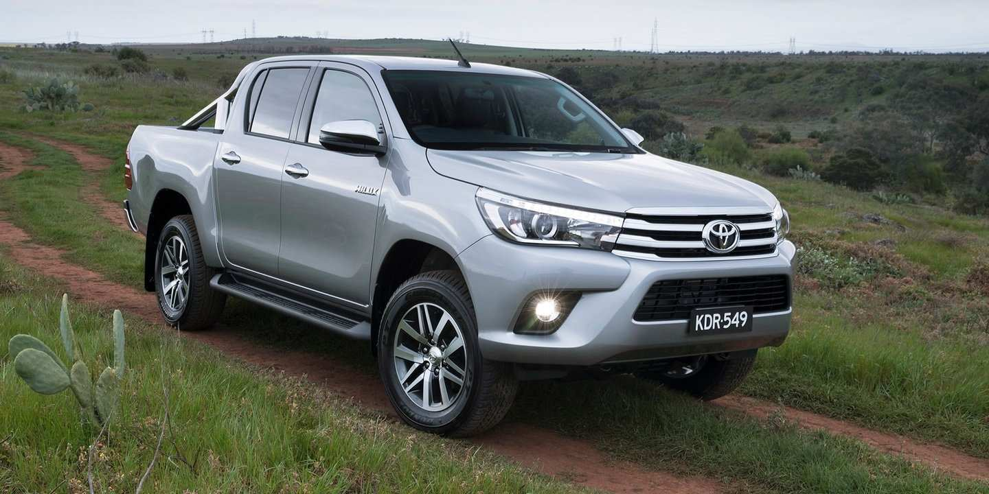 93 The Best 2019 Toyota Hilux Spy Shots Specs And Review
