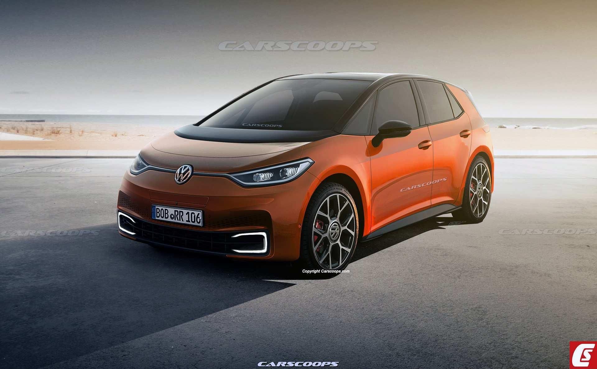 93 The Volkswagen Electric Vehicles 2020 First Drive