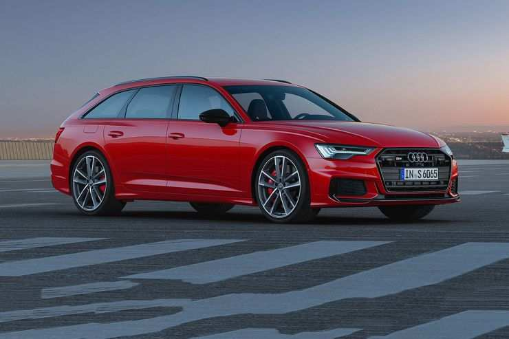 94 A 2019 Audi S6 Speed Test