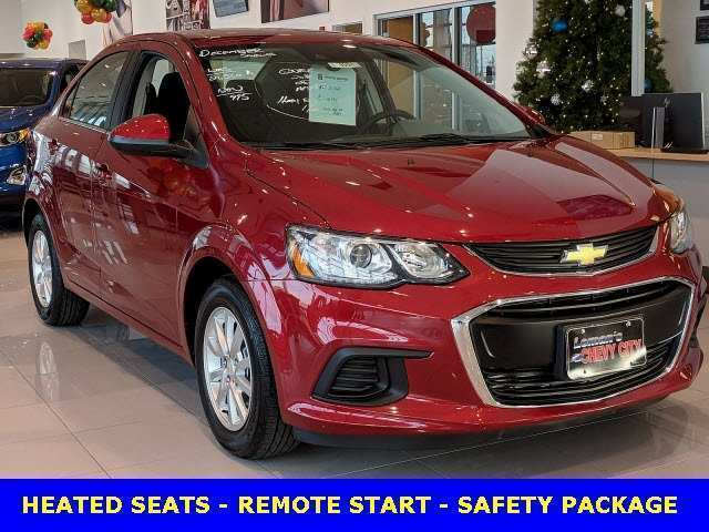 94 A 2019 Chevy Sonic Performance