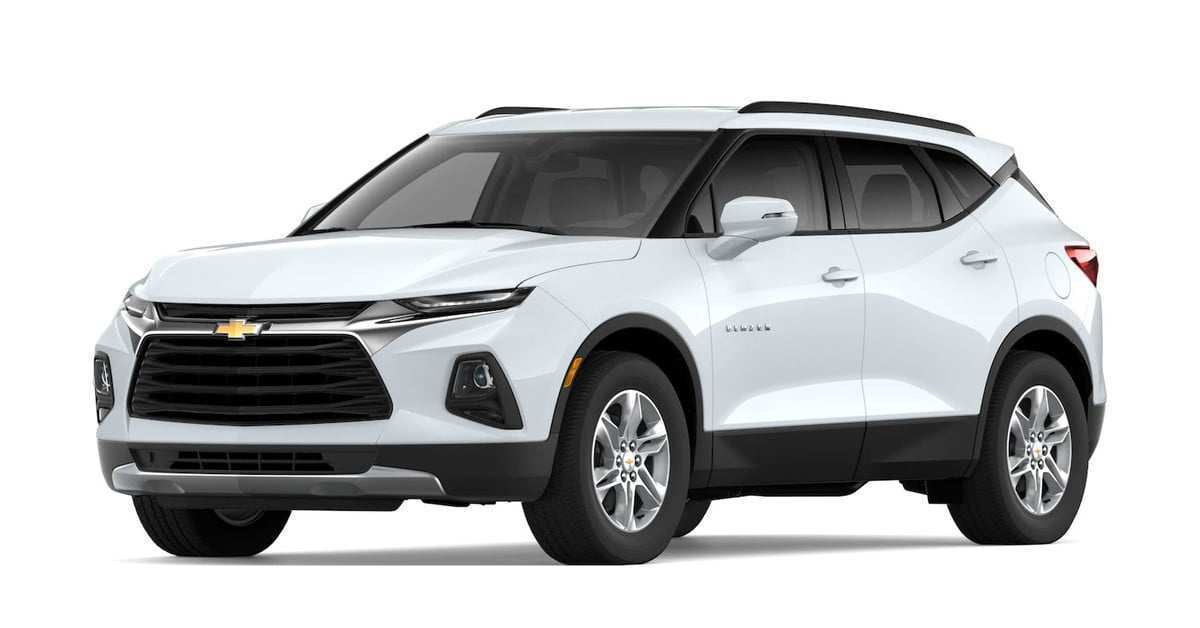 94 A 2019 The Chevy Blazer Concept And Review