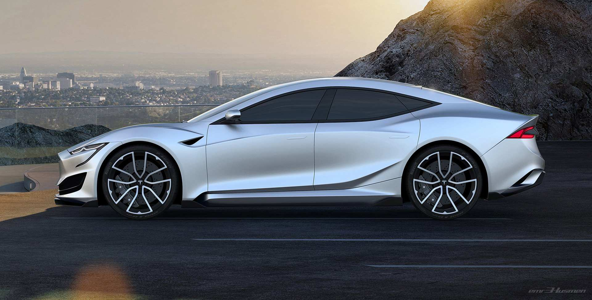 94 A 2020 Tesla Model S Picture