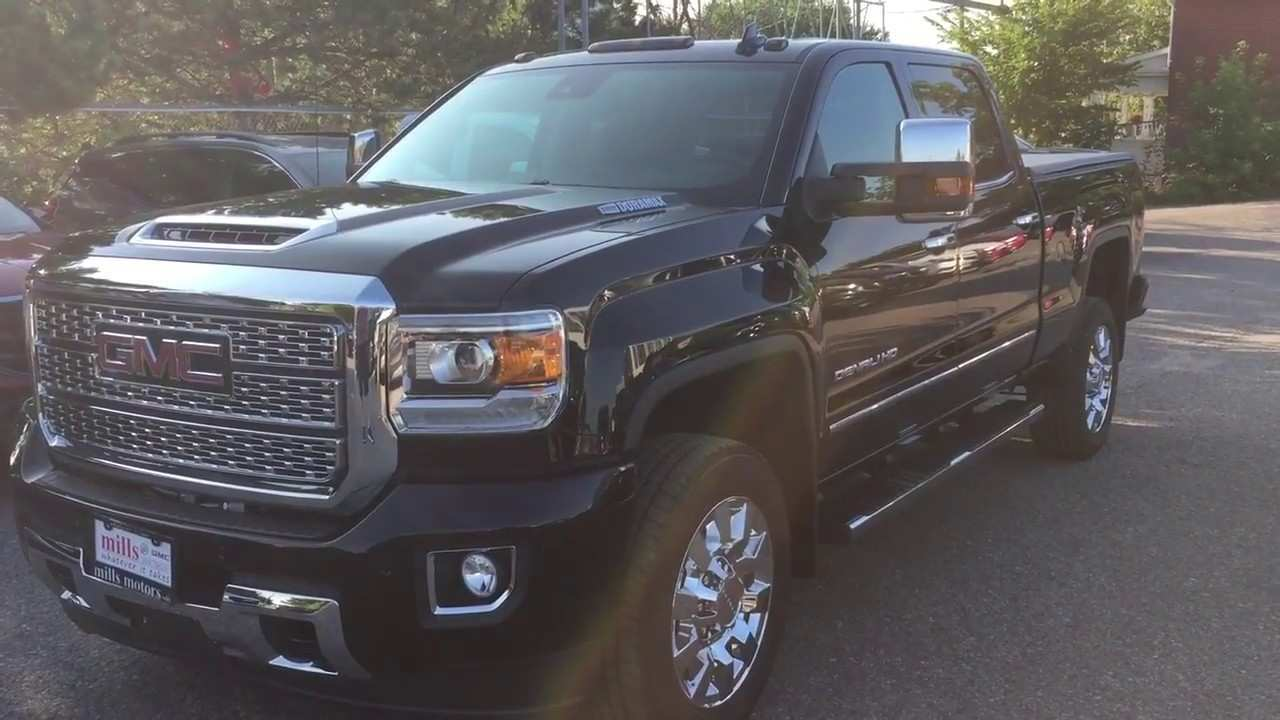 94 All New 2019 GMC Sierra 2500Hd New Model And Performance
