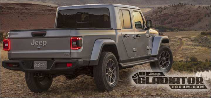 94 All New 2019 Jeep Gladiator Research New