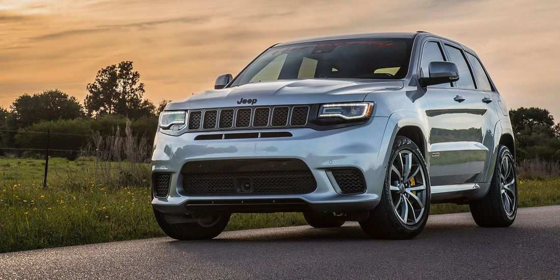 94 All New 2019 Jeep Grand Cherokee Trackhawk Overview