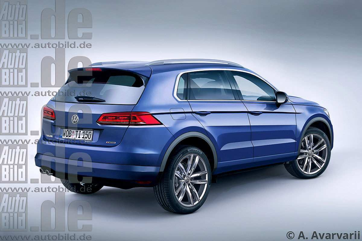 94 All New 2019 VW Tiguan Images