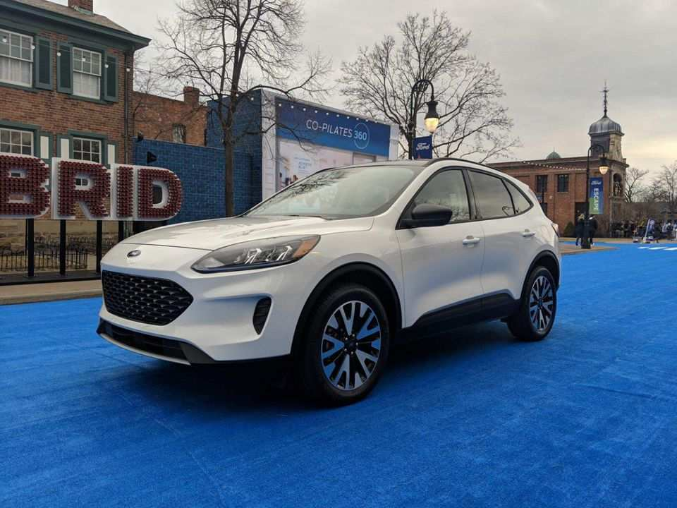 94 All New 2020 Ford Escape Review And Release Date