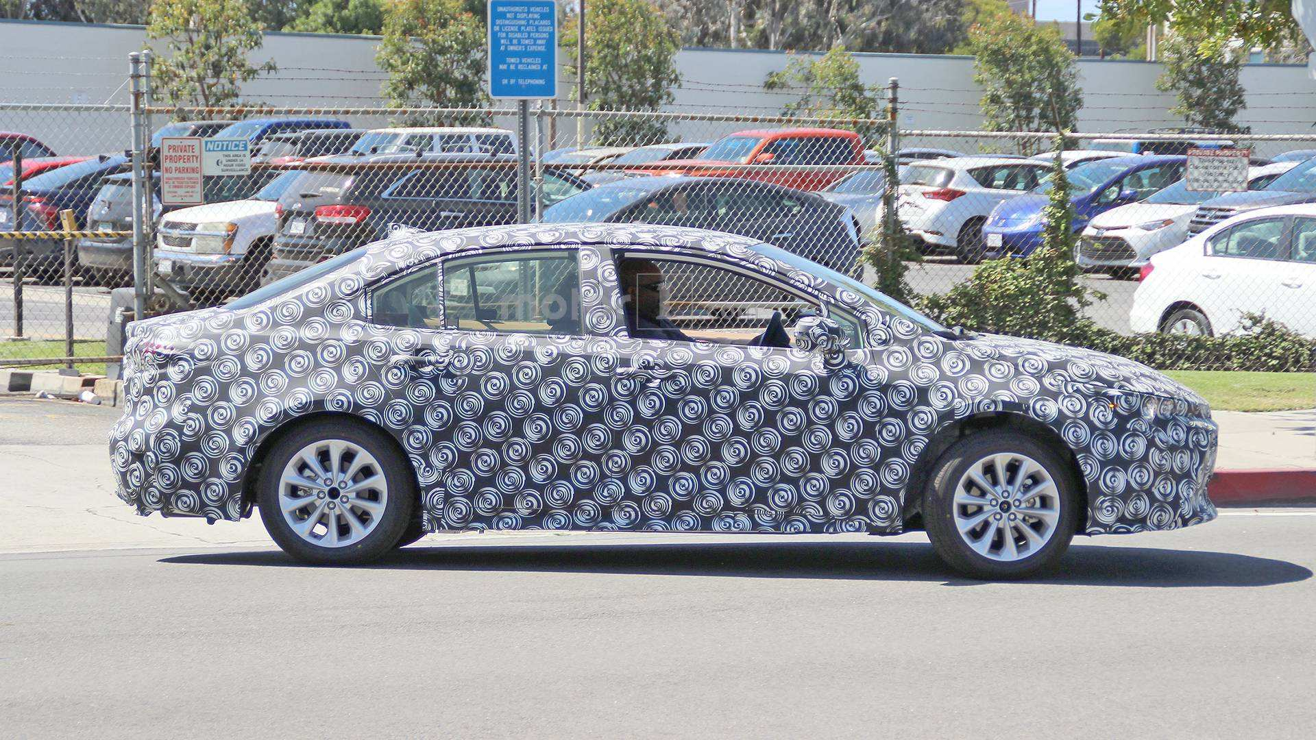 94 All New 2020 New Toyota Avensis Spy Shots Exterior
