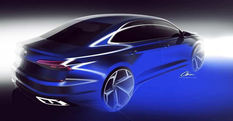 94 All New 2020 The Next Generation VW Cc Concept And Review