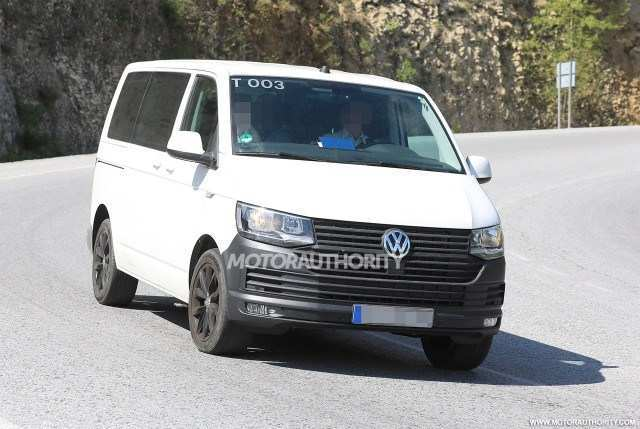 94 All New 2020 VW Transporter First Drive