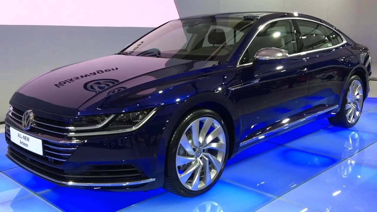 94 All New Arteon Vw 2019 Spy Shoot