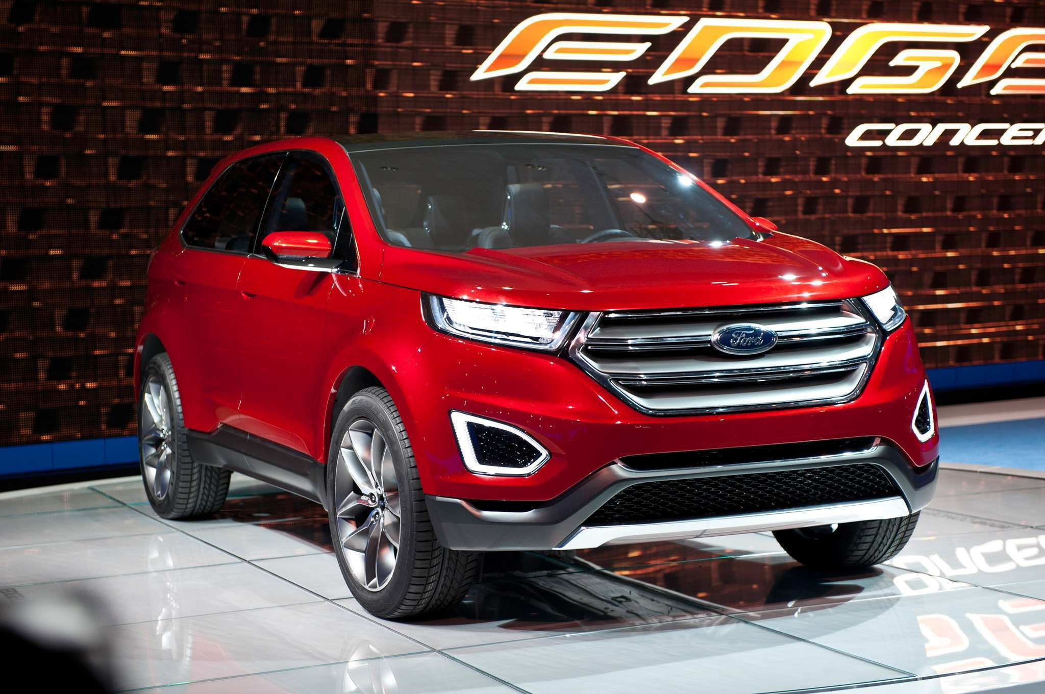 94 All New Ford Edge New Design New Concept