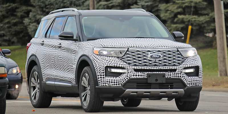 94 New 2020 The Ford Explorer Rumors