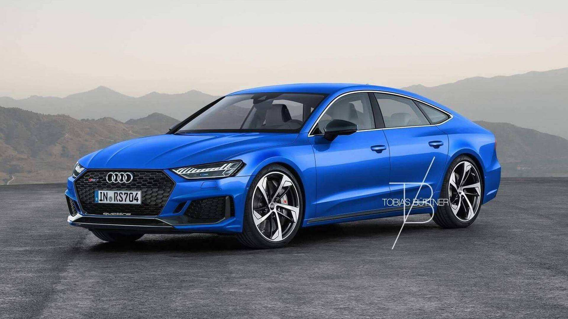 94 The 2020 Audi Rs7 Picture