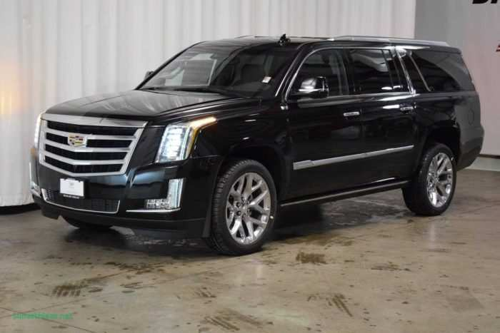 94 The Best 2019 Cadillac Escalade V Ext Esv Overview