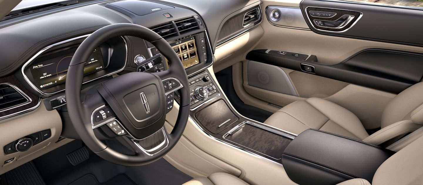 94 The Best 2019 Lincoln Continental Interior