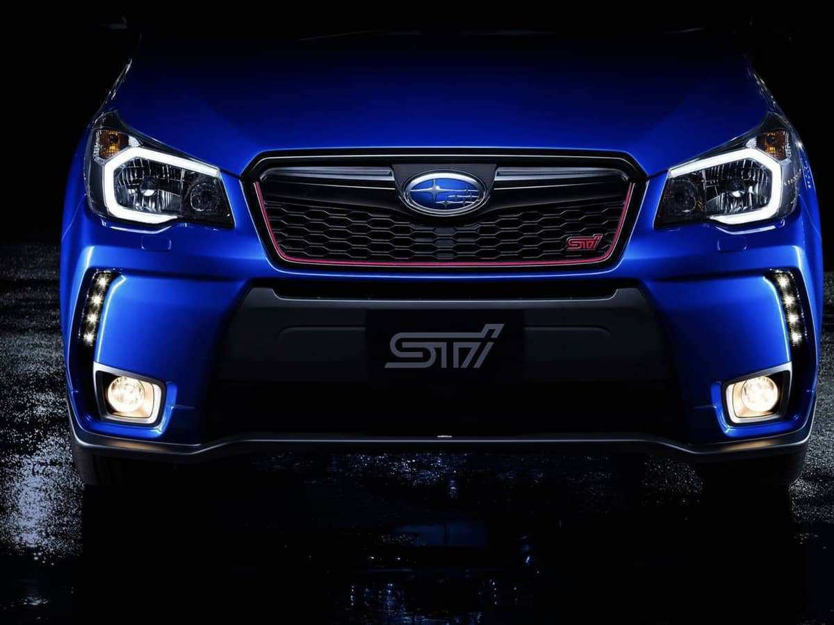 94 The Subaru Forester Sti 2020 Overview