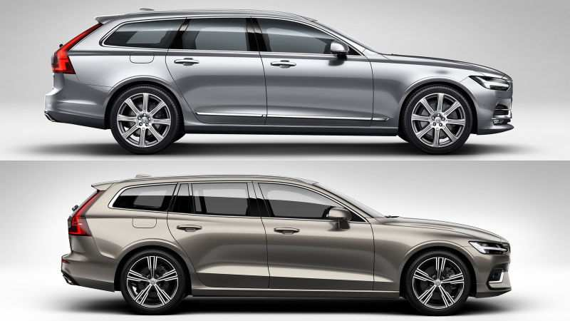 94 The Volvo V60 2019 Dimensions Images