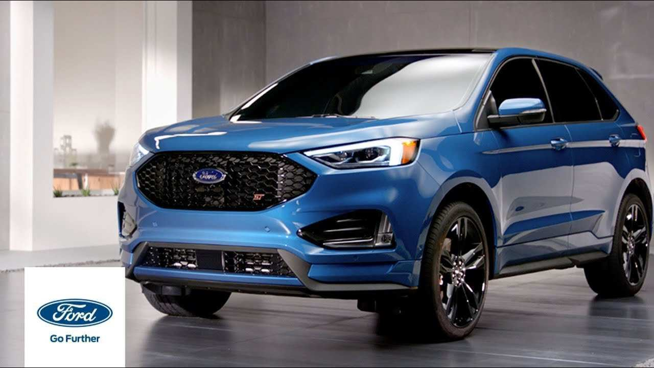 95 A 2019 Ford Edge Speed Test