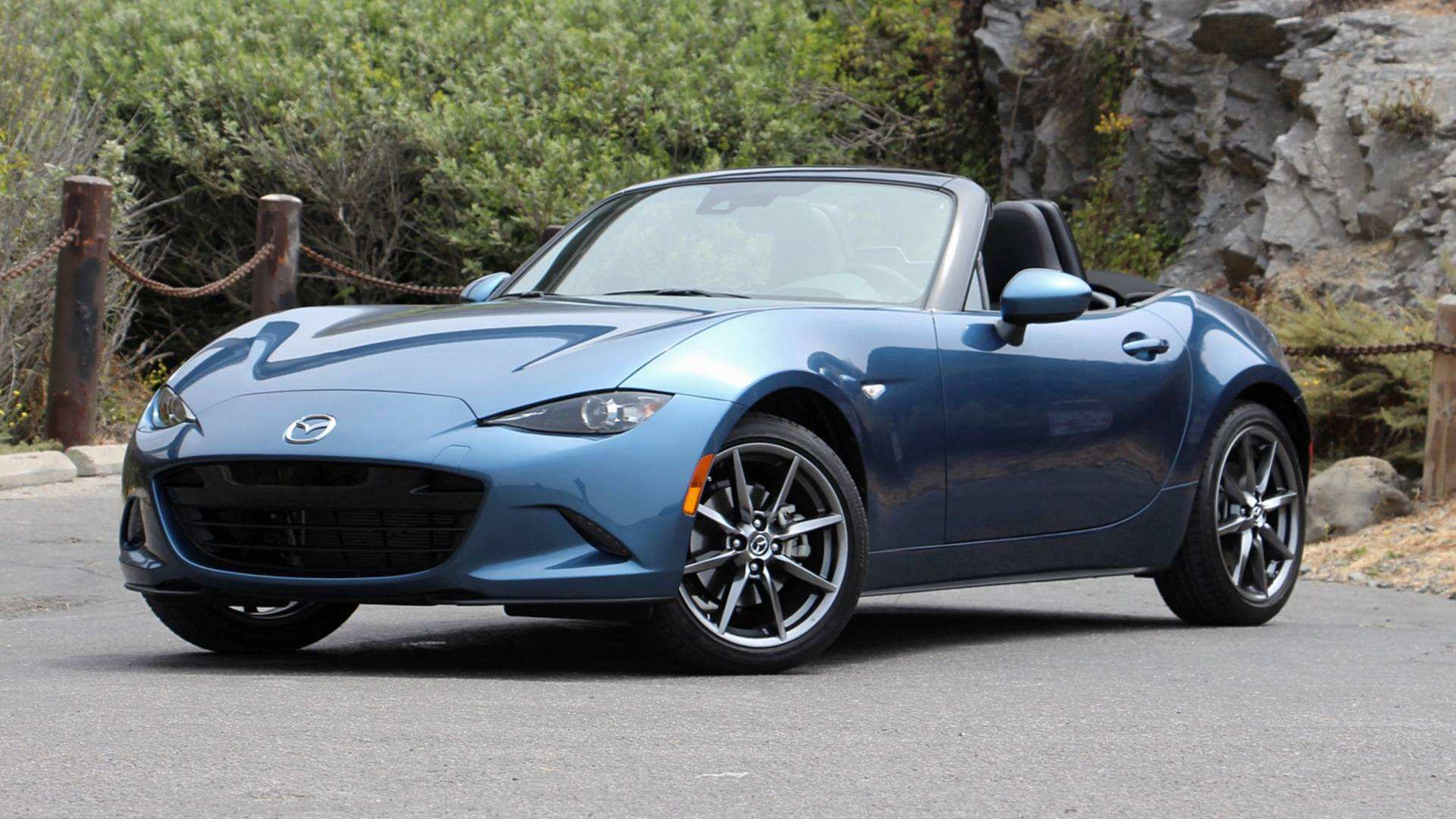 95 A 2019 Mazda Mx 5 Miata Spy Shoot