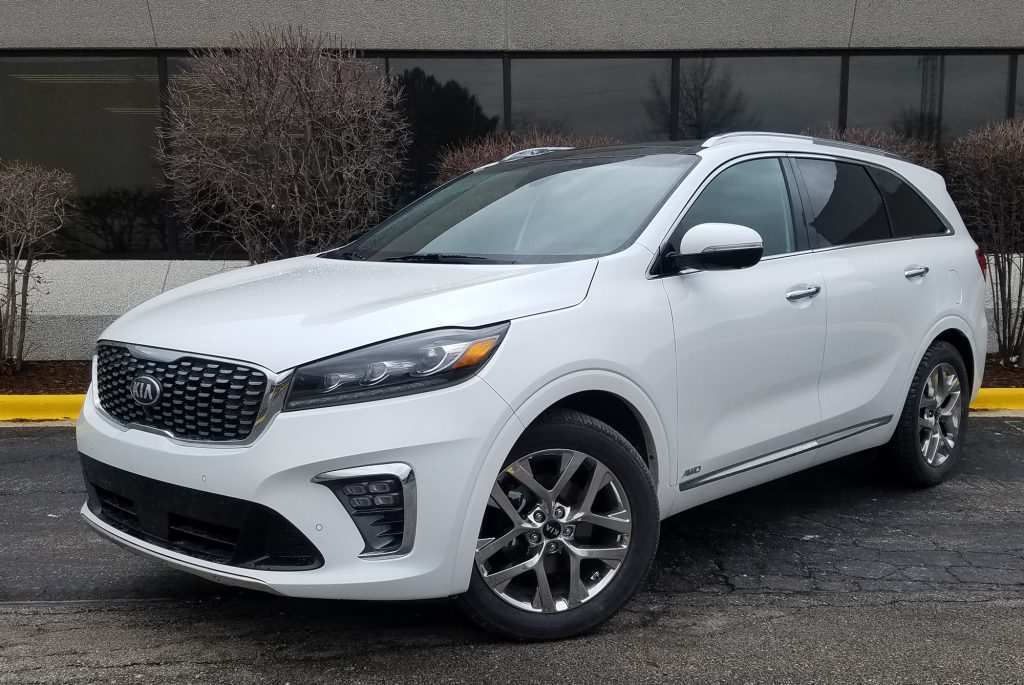 95 A Kia Sorento 2019 White Spy Shoot