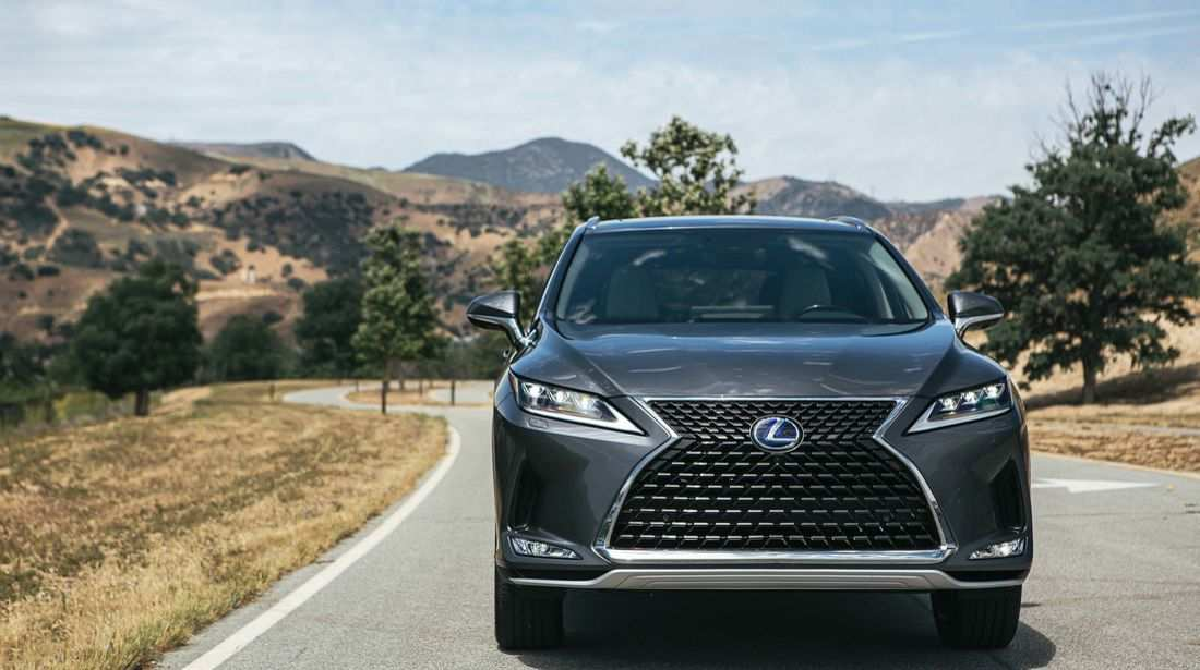 95 A Lexus Rx Facelift 2019 Model
