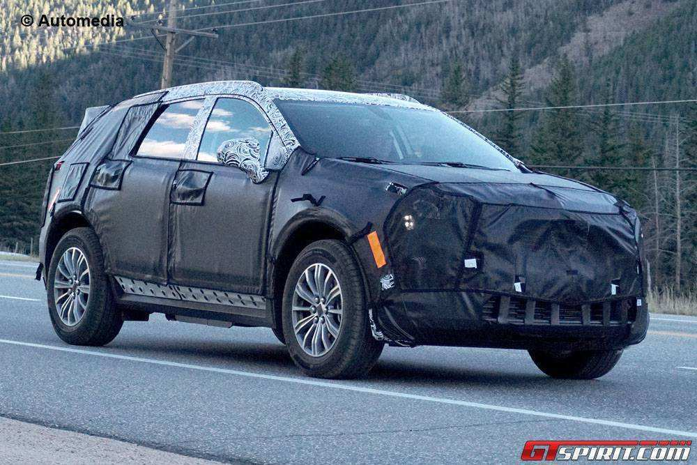 95 A Spy Shots Cadillac Xt5 Pricing