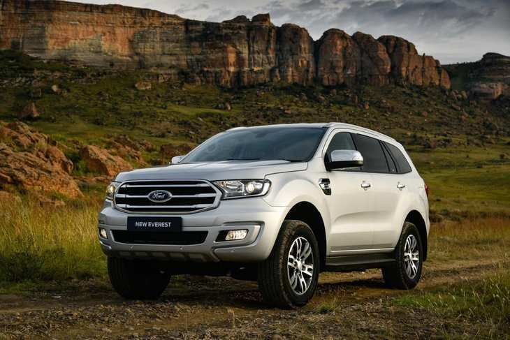 95 All New 2019 Ford Everest Specs
