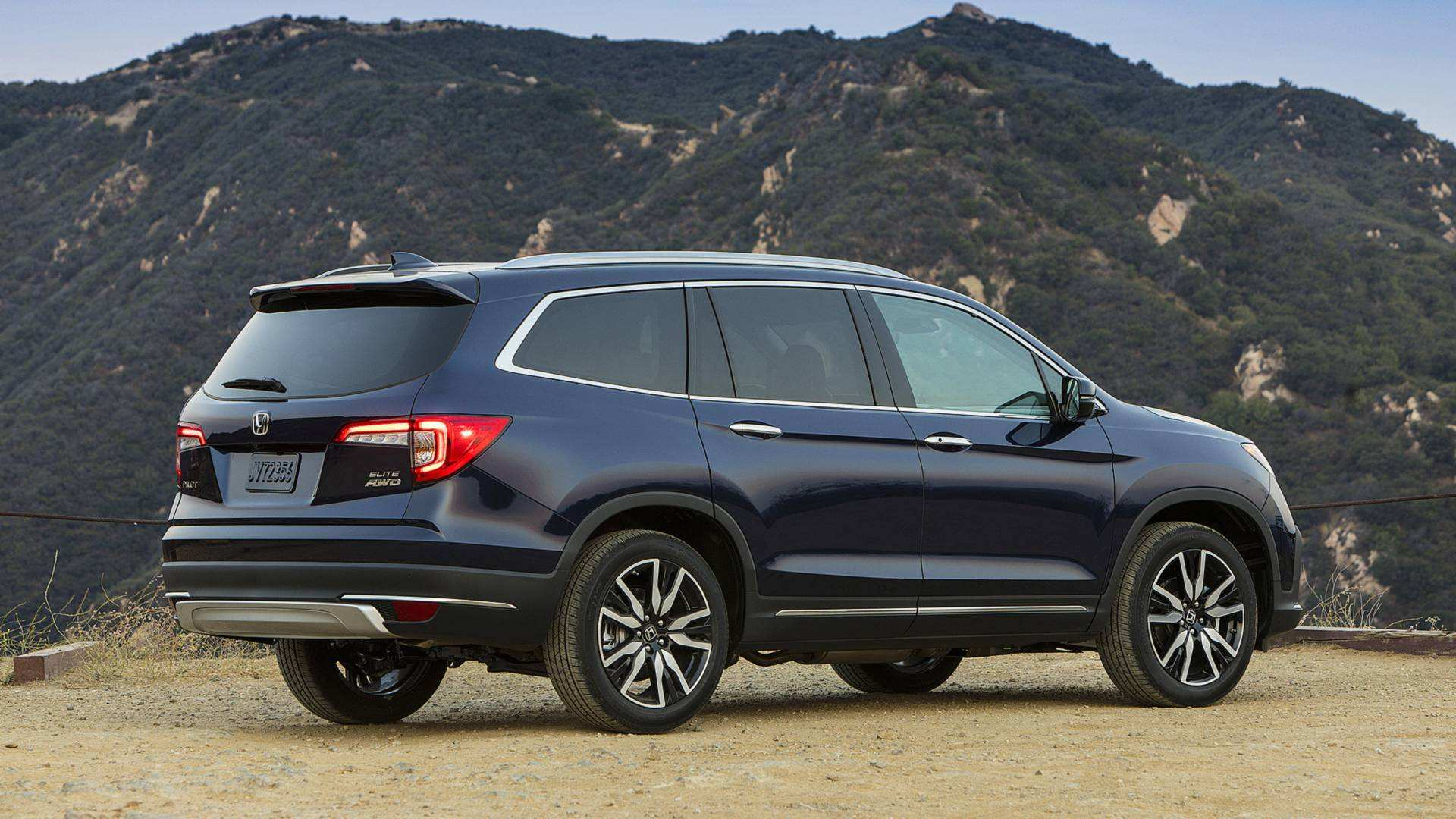 95 All New 2019 Honda Pilot Spy Exterior And Interior