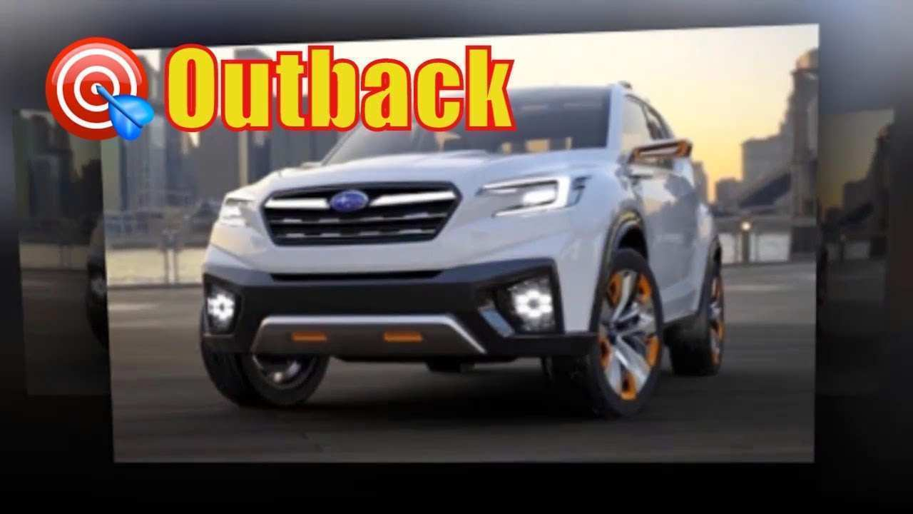 95 All New Subaru Outback 2020 Spy Release