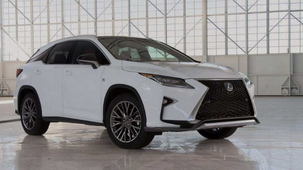 95 Best Lexus Rx Facelift 2019 Spy Shoot