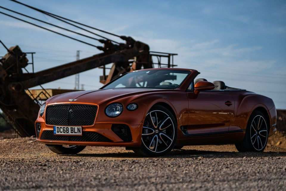 95 New 2020 Bentley Continental GT First Drive