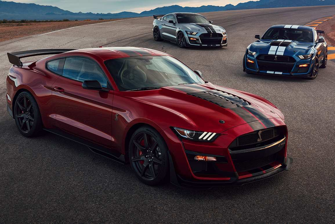 95 New 2020 Ford Mustang Gt500 Exterior