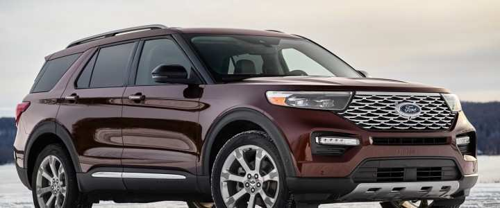 95 New Ford Explorer 2020 Release Date Price Design And Review