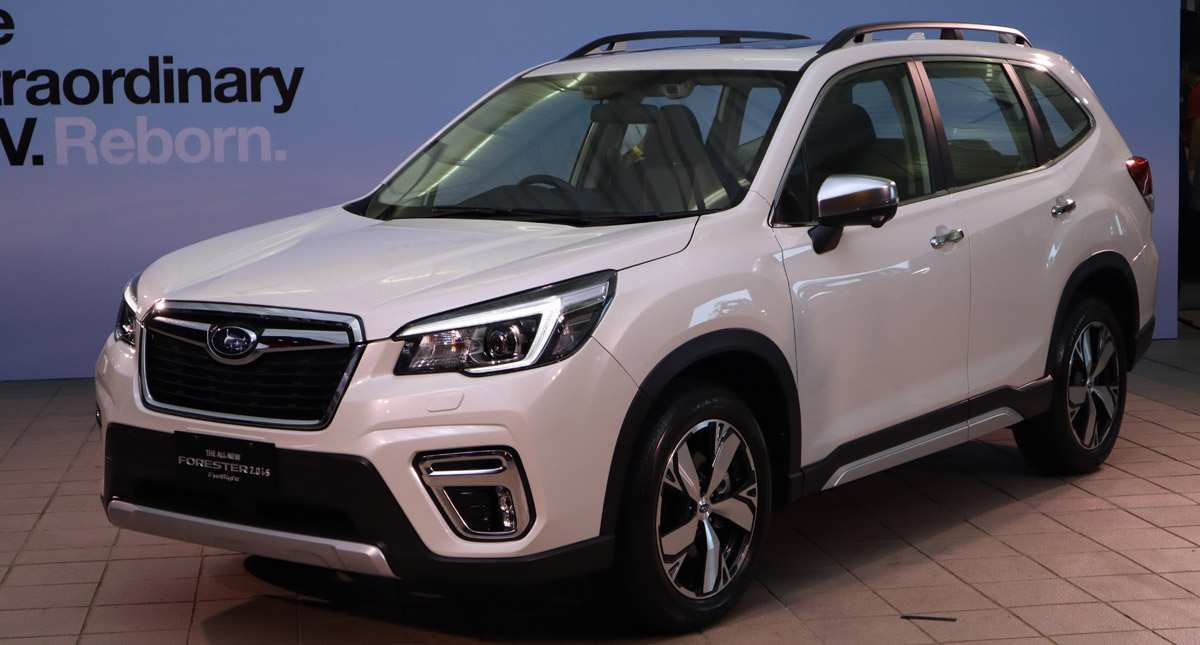 95 New Subaru Forester 2019 Ground Clearance New Concept