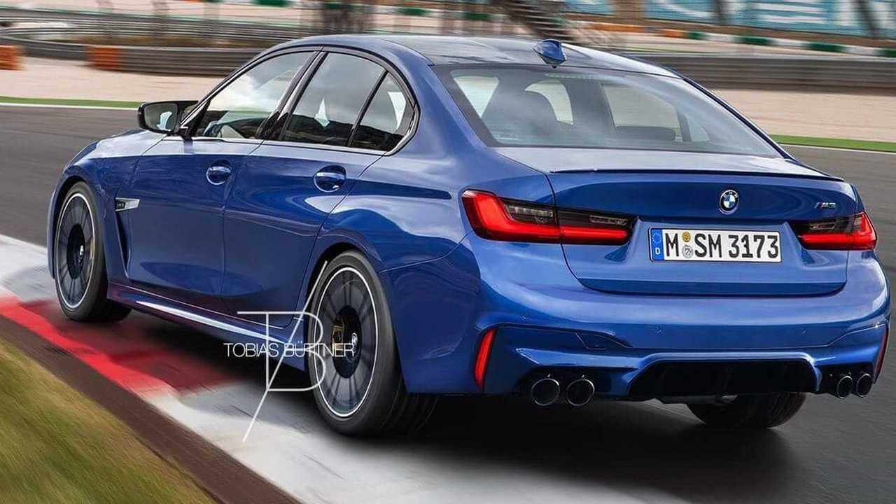 95 The 2019 BMW M3 Engine