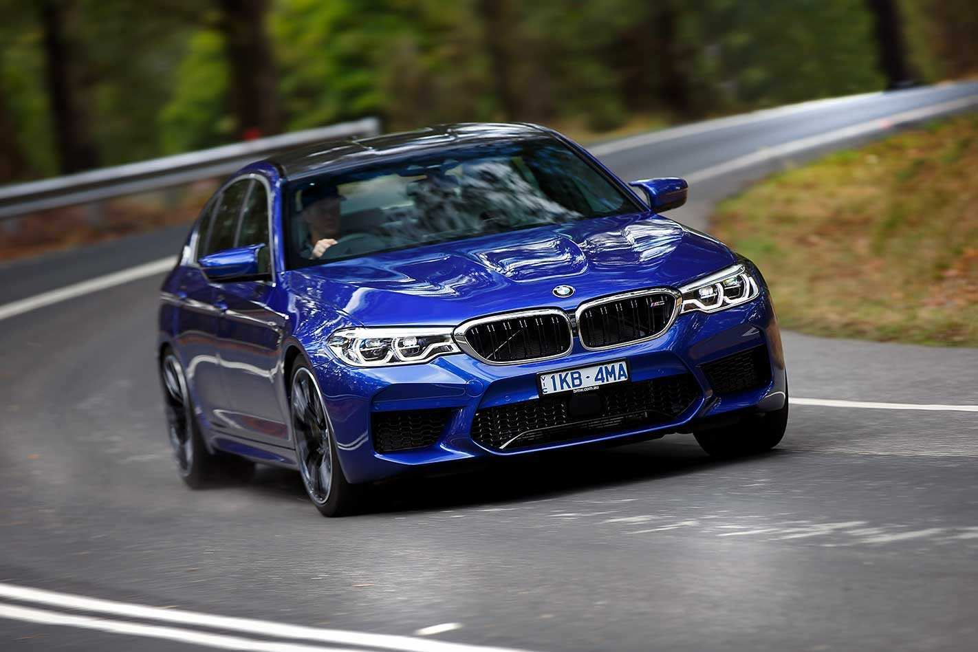 95 The 2019 BMW M5 Picture
