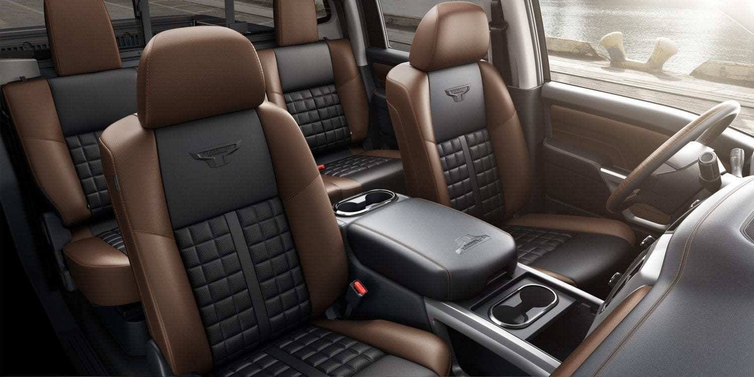 95 The 2019 Nissan Titan Interior 2 Spesification