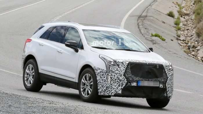 95 The 2019 Spy Shots Cadillac Xt5 Photos