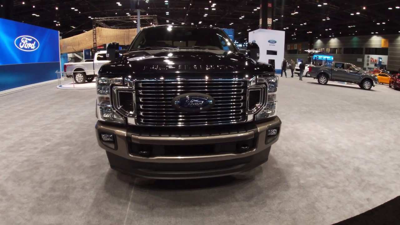95 The 2020 Ford F350 Super Duty Review