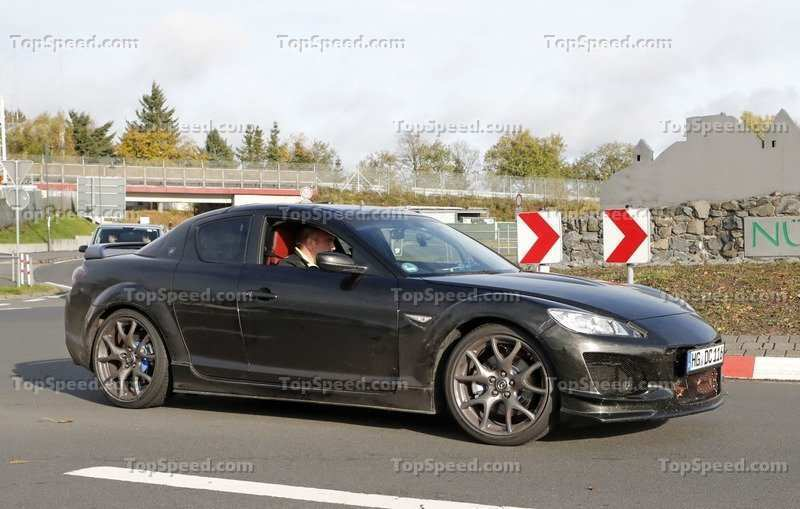 95 The 2020 Mazda RX7 Spy Shoot